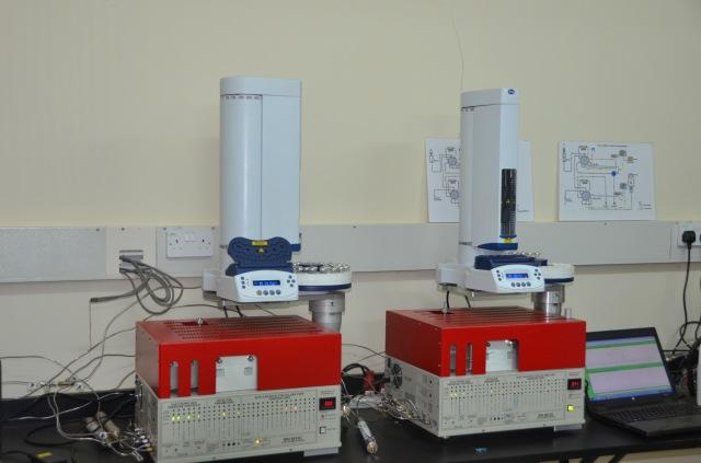 Gas Chromatography instruments