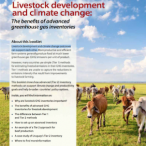 A new publication provides guidance and support on how to set up credible and affordable greenhouse gasinventories