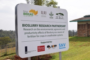 New research partnership seeks to explore the value of bioslurry