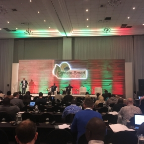 Mazingira Centre at Climate Smart Agriculture Conference 2017 in Johannesburg, South Africa