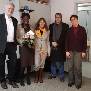 First Mazingira PhD student – Alice Onyango – successfully defended her thesis