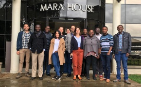 Training on modelling greenhouse gas emissions from livestock systems in Africa